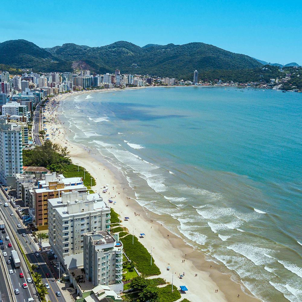 Itapema lidera o índice das cidades mais valorizadas do Brasil nos últimos 12 meses