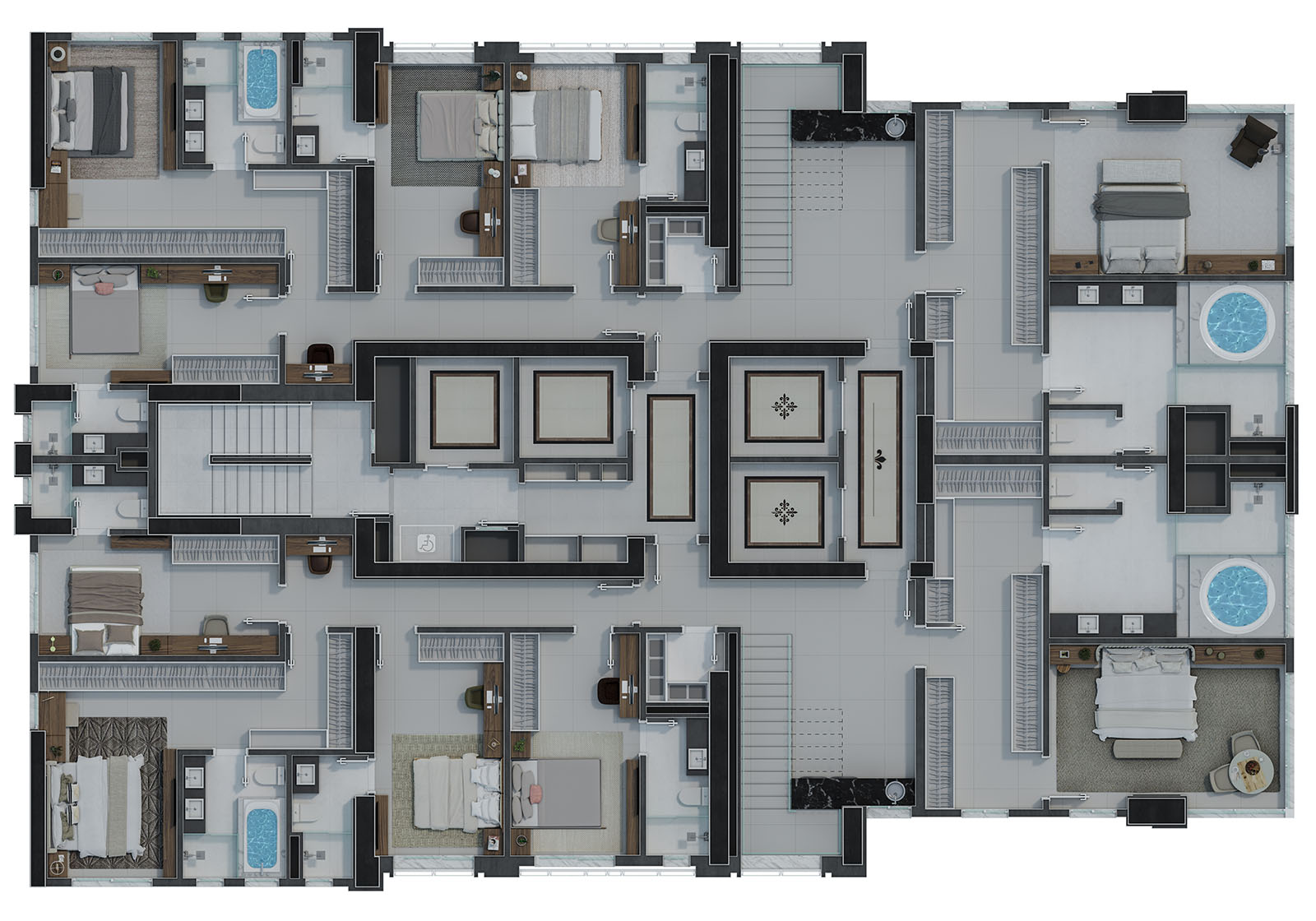Penthouse Duplex - Pavimento Inferior