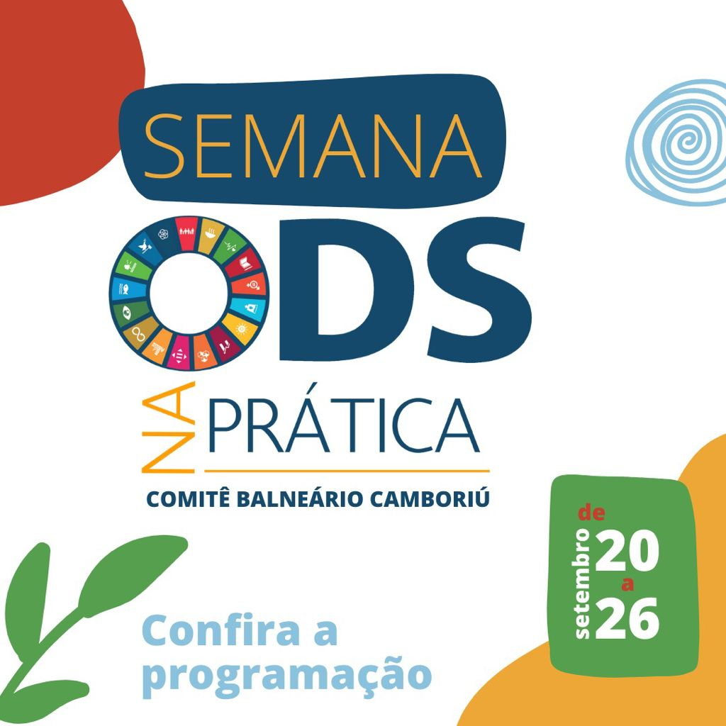 Instituto Rogério Rosa é um dos apoiadores do evento Semana ODS na Prática do Comitê de Balneário Camboriú