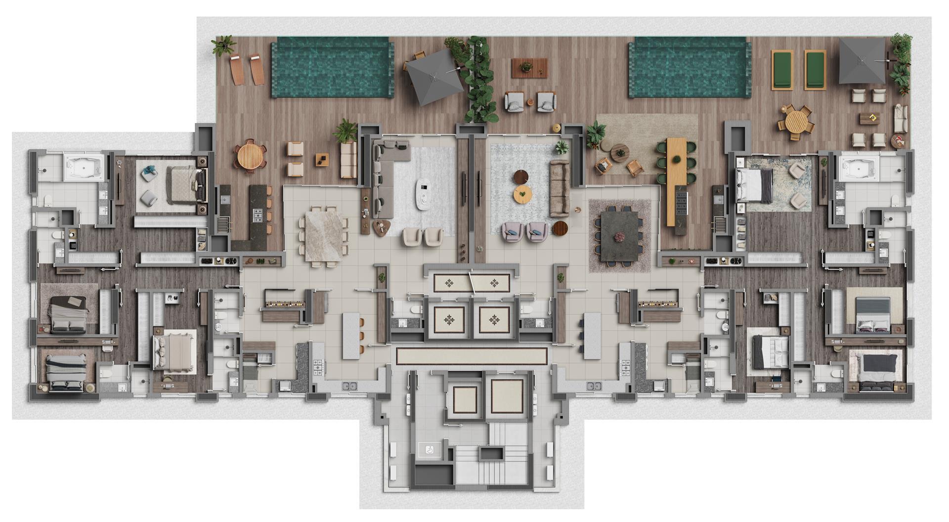 Apartamento Diferenciado