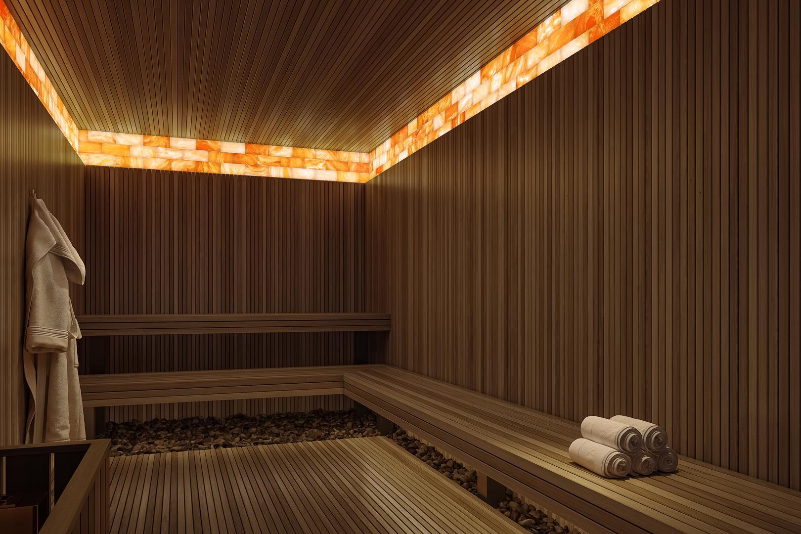 Sauna seca com haloterapia
